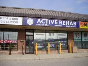 Active Rehab, my another practice location.