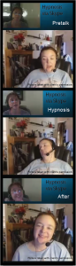 Hypnosis session via Skype