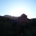 Sedona 2013. Sunset, Ballar Canyon near the Knoll Vortex