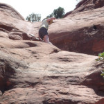 Sedona 2013. Halfway to the top of the Cathedral Rock