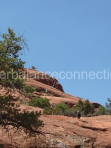 Sedona 2013. Walking up to the Bell Rock Vortex