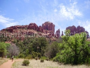 Sedona 2013. Cathedral Rock from the distance