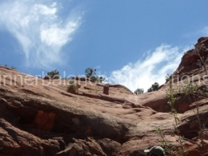 Sedona 2013. Up to the Cathedral Rock Vortex