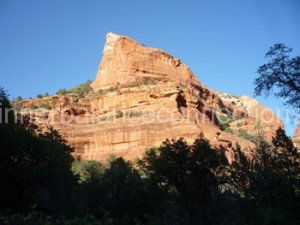 Sedona 2013. On the bottom of the Ballar Canyon near the Knoll Vortex